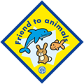 Animals for scouting groups brownie badge