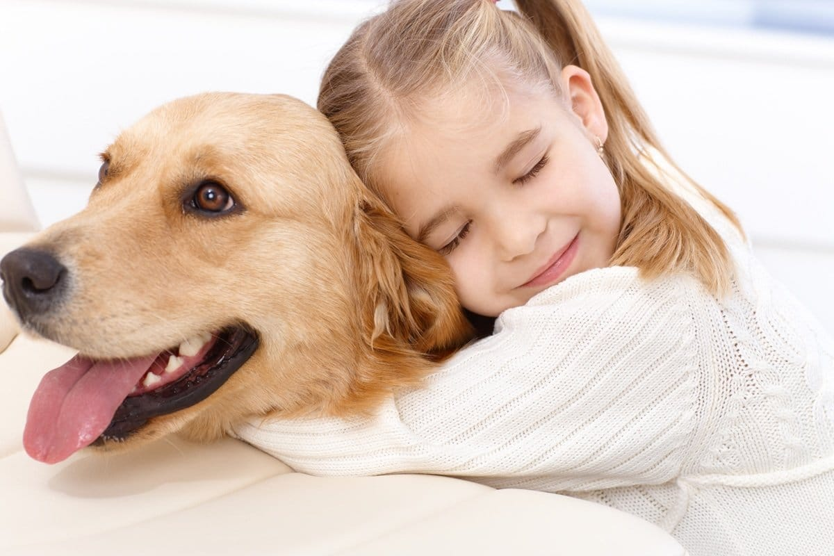 Benefits of having a pet for a child