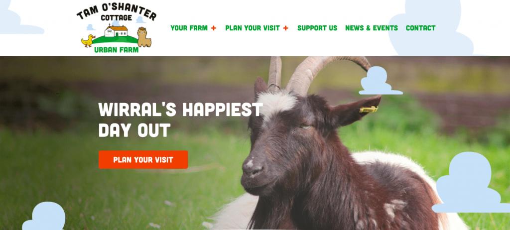 Tam O'Shanter Urban Farm Animal Club birkenhead